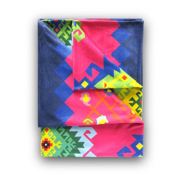 Curly Stars - Designer Polar Fleece Blanket 2