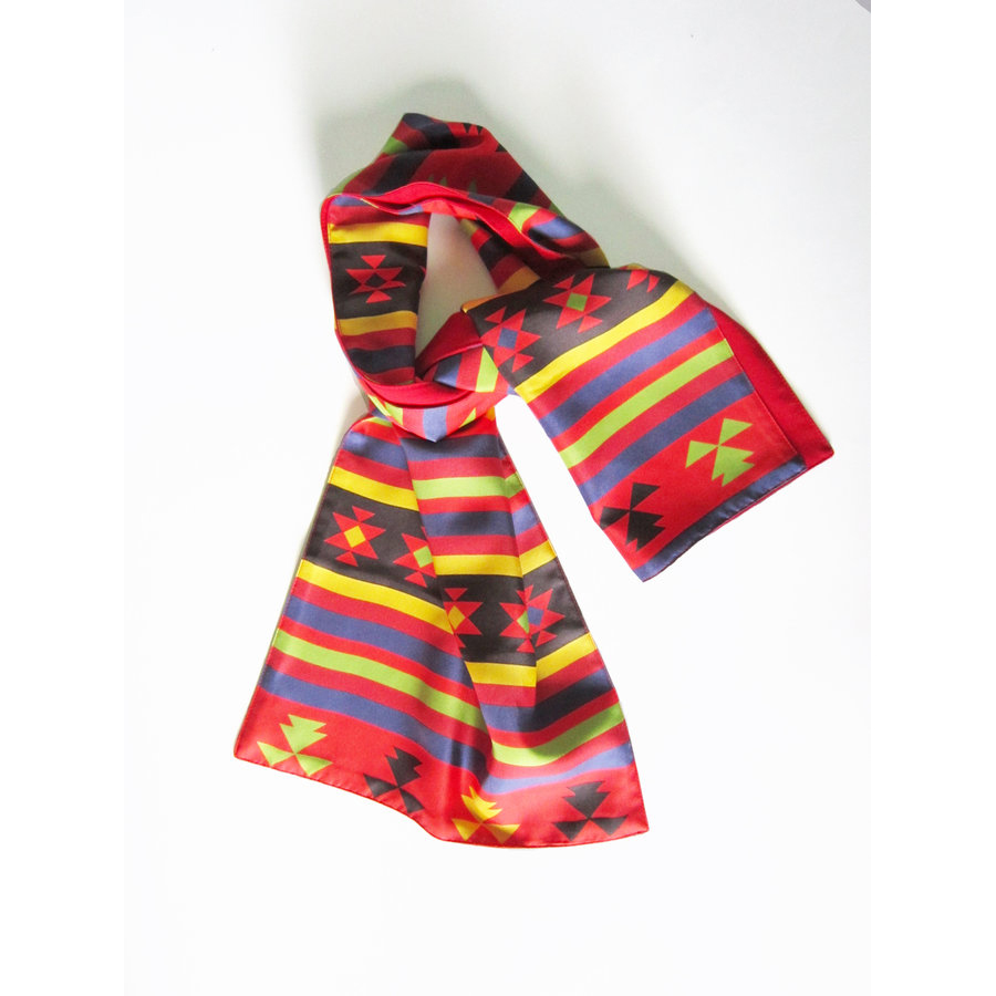 Dobrichian Wool and Silk Scarf 2