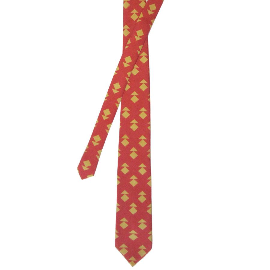 Golden Bibitsas - Silk Twill Tie