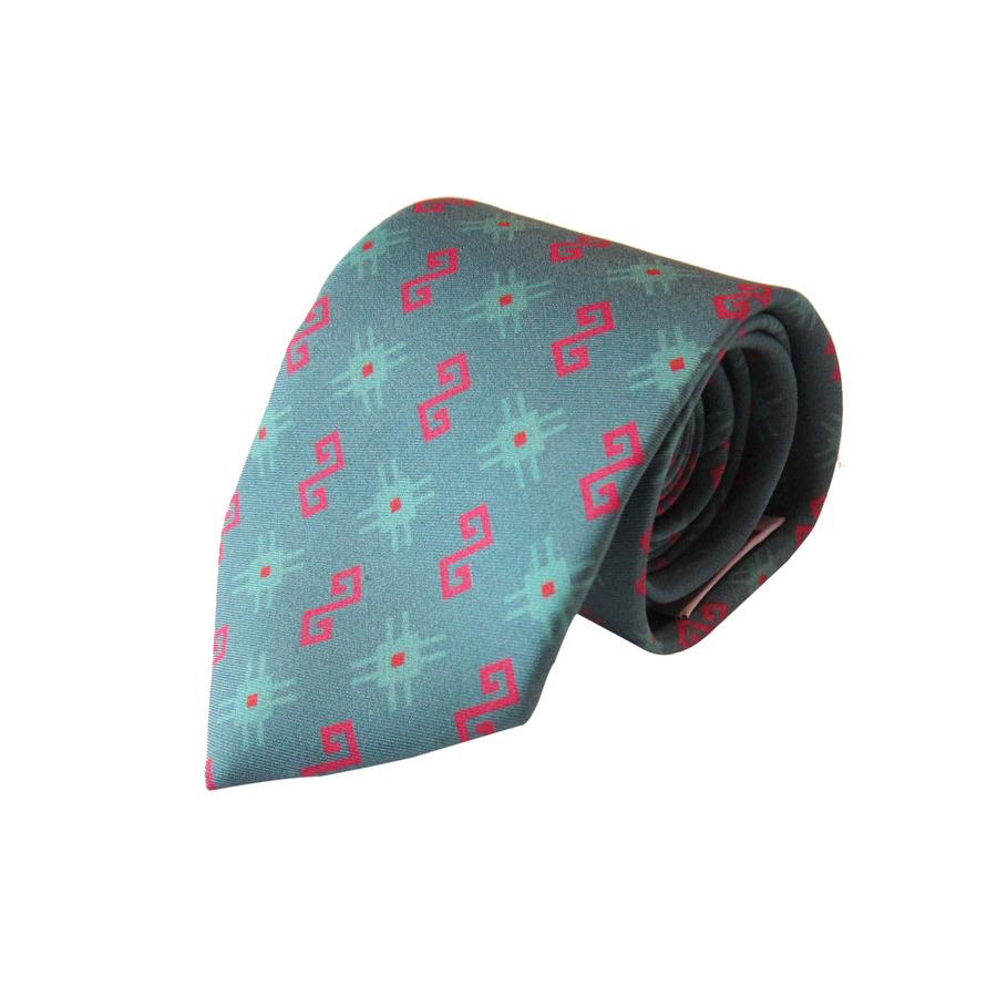 Kapanian Sea Blue - Silk Twill Tie 2