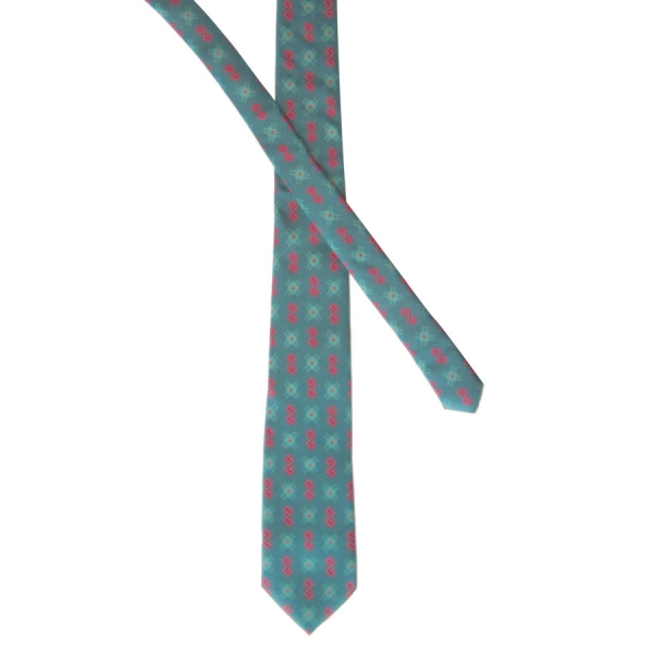 Kapanian Sea Blue - Silk Twill Tie