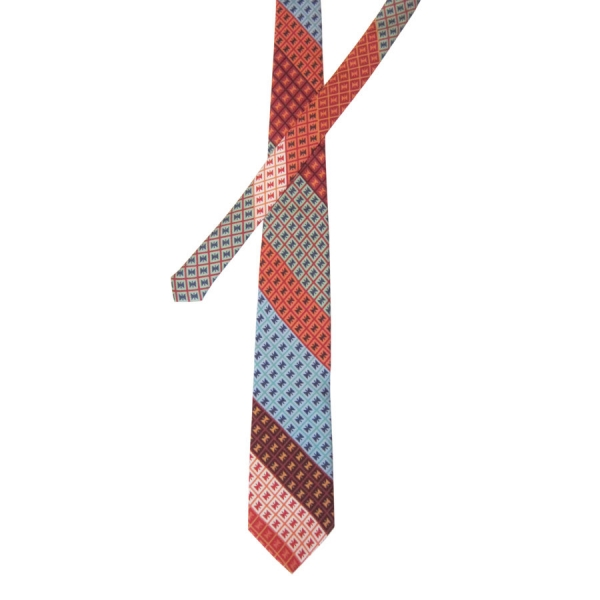 Makasians on Tables - Silk Twill Tie