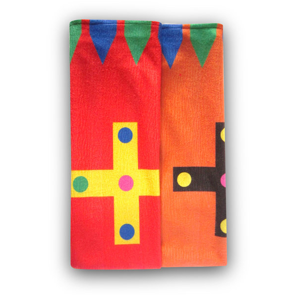 The Crosses - Designer Polar Fleece Blanket 1